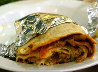 Dürüm Kebab de Pollo