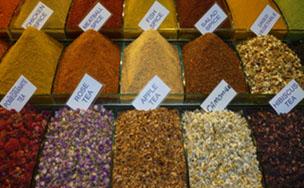 Combinaciones de especias y semillas